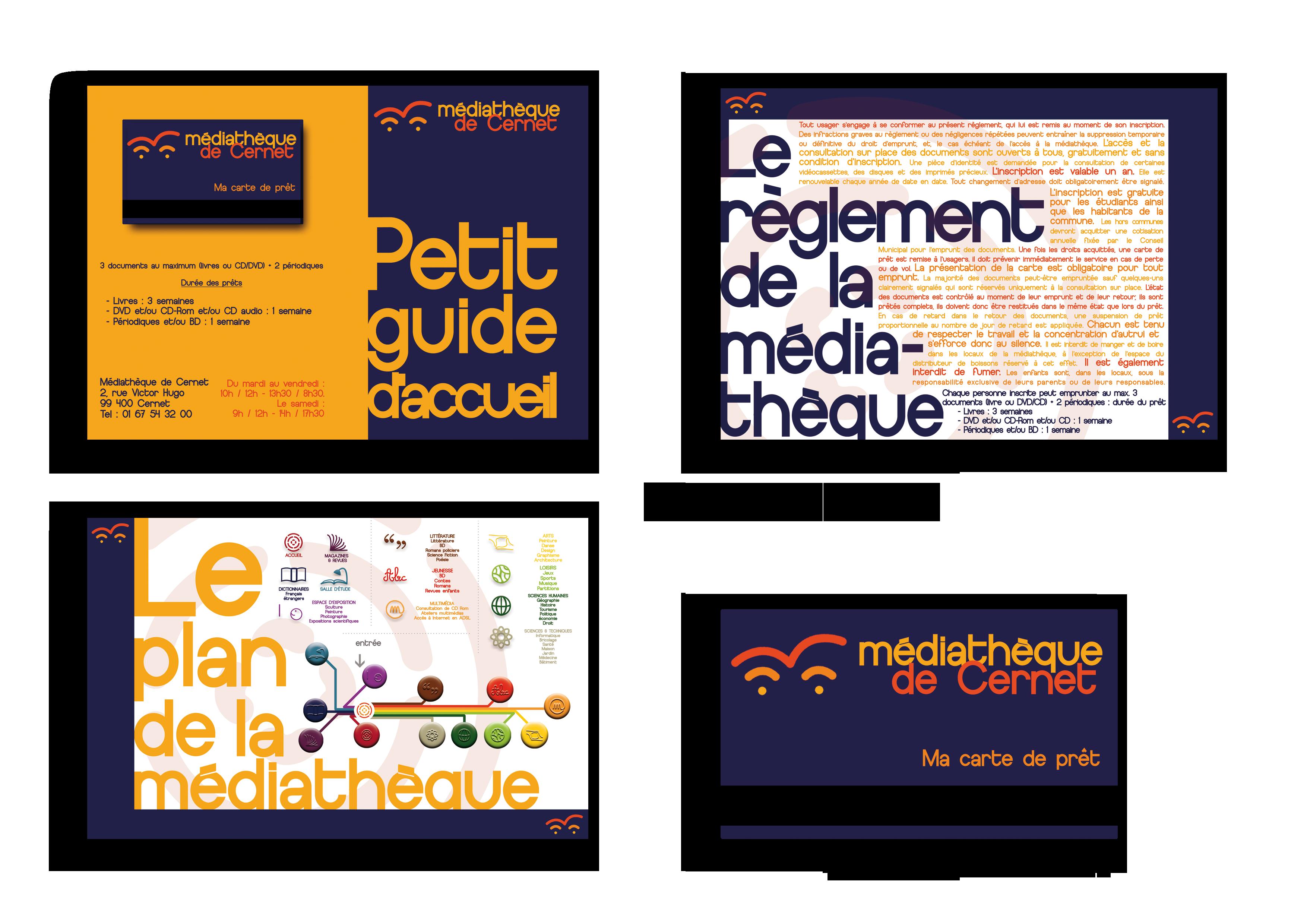 Extrait Du Livret De Presentation La Charte Graphique